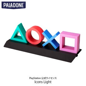 【クーポン有】 [あす楽対応] PALADONE PlayStation Icons Light PlayStation 公式ライセンス品 # PLDN-004 パラドン (照明) [PSR]