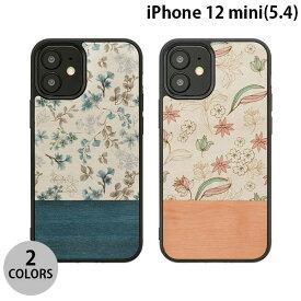 【マラソンクーポン有り】 [ネコポス発送] Man & Wood iPhone 12 mini 天然木ケース マンアンドウッド (iPhone12mini スマホケース) [PSR]