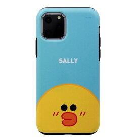 [ネコポス発送] LINE FRIENDS iPhone 11 Pro Max DUAL GUALD Full Face SALLY # KCJ-DFM004 ラインフレンズ (iPhone11ProMax スマホケース) [PSR]