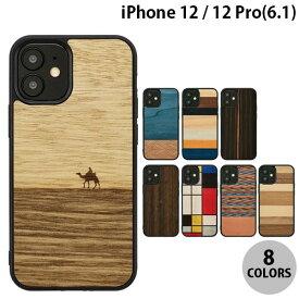 【マラソンクーポン有り】 [ネコポス発送] Man & Wood iPhone 12 / 12 Pro 天然木ケース マンアンドウッド (iPhone12 / 12Pro スマホケース) [PSR]