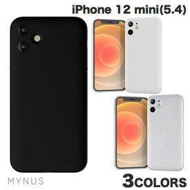 [ネコポス送料無料] MYNUS iPhone 12 mini CASE ミニマルデザイン マイナス (iPhone12mini スマホケース) [PSR]