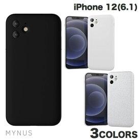 [ネコポス送料無料] MYNUS iPhone 12 CASE ミニマルデザイン マイナス (iPhone12 スマホケース) [PSR]