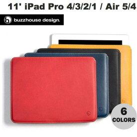 buzzhouse design 10.9インチ iPad Air 第4世代 / 11インチ iPad Pro M1 第3 / 2 / 1世代 ハンドメイドレザーケース (ノーマルサイズ) バズハウスデザイン (タブレットカバー・ケース) [PSR]
