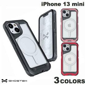 【お得なクーポン有】 GHOSTEK iPhone 13 mini Atomic Slim 4 MagSafe対応 アルミ合金製スリムケース ゴーステック (iPhone13mini スマホケース) [PSR]