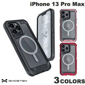 [ネコポス送料無料] GHOSTEK iPhone 13 Pro Max Atomic Slim 4 MagSafe対応 アルミ合金製スリムケース ゴーステック (iPhone13ProMax スマホケース) アトミック スリム [PSR]