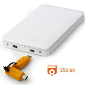 【マラソンクーポン有】 Data Watch Technologies DataTale 2.5 HDD Enclosure with Guardian Secure Key USB2.0 ホワイト # EU-S10-Y データウォッチテクノロジー (パソコン周辺機器) [PSR]