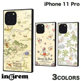 【新型iPhone発売記念まとめ買いクーポン】 [ネコポス発送] ingrem iPhone 11 Pro くまのプーさん 耐衝撃ハイブリッドケース KAKU イングレム (iPhone11Pro スマホケース) [PSR]