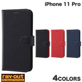 [ネコポス発送] Ray Out iPhone 11 Pro 手帳型ケース シンプル マグネット レイアウト (iPhone11Pro スマホケース) [PSR]