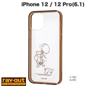 [ネコポス発送] Ray Out iPhone 12 / 12 Pro トムとジェリー ハイブリッドケース Charaful ジェリー # RT-WP27UC/JRM レイアウト (iPhone12 / 12Pro スマホケース) [PSR]