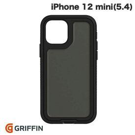【マラソンクーポン有り】 [ネコポス送料無料] Griffin Technology iPhone 12 mini Survivor Extreme Asphalt 耐衝撃ケース Black / Black # GIP-058-BLK グリフィンテクノロジー (iPhone12mini スマホケース) [PSR]
