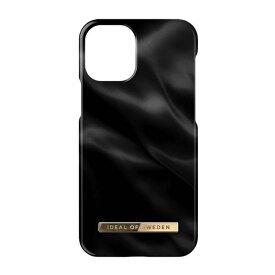[ネコポス送料無料] IDEAL OF SWEDEN iPhone 13 mini Fashion Case BLACK SATIN # IDFCSS21-I2154-312 アイディアル オブ スウィーデン (iPhone13mini スマホケース) [PSR]