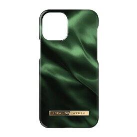 【お得なクーポン有】 [ネコポス送料無料] IDEAL OF SWEDEN iPhone 13 mini Fashion Case EMERALD SATIN # IDFCAW19-I2154-154 アイディアル オブ スウィーデン (iPhone13mini スマホケース) [PSR]