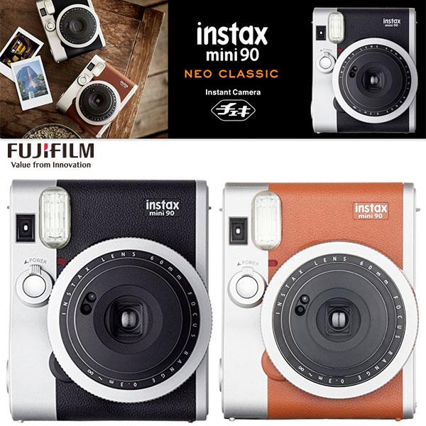 FujiFilm インスタントカメラ チェキ instax mini 90 ネオクラシック フジフィルム (Apple製品関連アクセサリ) [PSR]