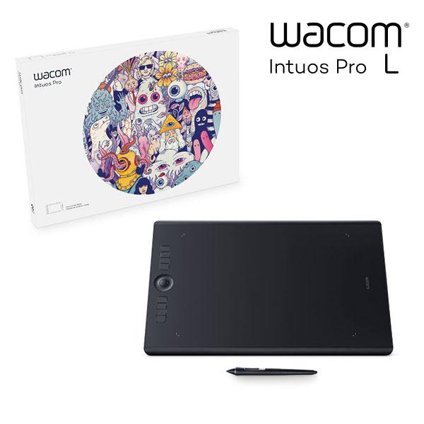 [楽天カード利用でP最大9倍] WACOM Intuos Pro Large # PTH-860/K0 ワコム (ペンタブレット) [PSR]