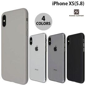 【クーポン有】[ネコポス発送] PowerSupport iPhone XS Air Jacket エアージャケット パワーサポート (iPhoneXS スマホケース)