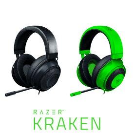 [あす楽対応] Razer Kraken 有線 ゲーミングヘッドセット レーザー (ヘッドセット) 2019 冷却ジェルパッド