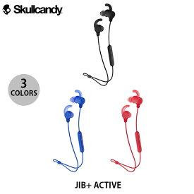 Skullcandy JIB+ ACTIVE Bluetooth 5.0 ワイヤレスイヤホン スポーツフィン スカルキャンディー (カナル イヤホン)
