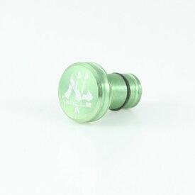【キャッシュレスで5%還元】 GILD design EVA Earphone jack cover(WILLE)グリーン # GAEVW-200LG ギルドデザイン (イヤホンジャックアクセサリー )
