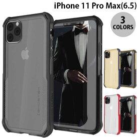 [ネコポス発送] GHOSTEK iPhone 11 Pro Max Cloak 4 スタイリッシュなハイブリッドケース ゴーステック (iPhone11ProMax バンパーケース)