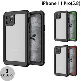 【マラソンクーポン有】[ネコポス発送] GHOSTEK iPhone 11 Pro Nautical 2 IP68防水防塵タフネスケース ゴーステック (iPhone11Pro スマホケース)