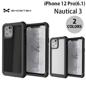 [ネコポス発送] GHOSTEK iPhone 12 Pro Nautical 3 IP68防水防塵タフネスケース ゴーステック (iPhone12Pro スマホケース)
