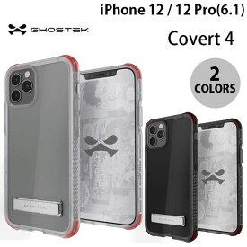 [ネコポス発送] GHOSTEK iPhone 12 / 12 Pro Covert 4 シンプルなクリアタフケース ゴーステック (iPhone12 / 12Pro スマホケース)