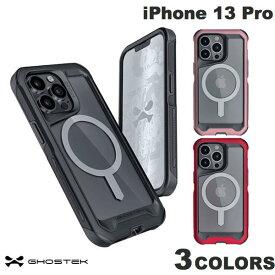 [ネコポス発送] GHOSTEK iPhone 13 Pro Atomic Slim 4 MagSafe対応 アルミ合金製スリムケース ゴーステック (iPhone13Pro スマホケース)