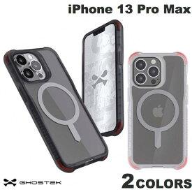 [ネコポス発送] GHOSTEK iPhone 13 Pro Max Pro Covert 6 MagSafe対応 抗菌 シンプルなクリアタフケース ゴーステック (iPhone13ProMax スマホケース)
