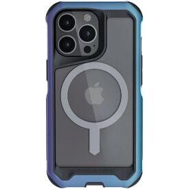 [ネコポス発送] GHOSTEK iPhone 13 Pro Max Atomic Slim 4 MagSafe対応 アルミ合金製スリムケース プラズマ # GHOCAS2863 ゴーステック (iPhone13ProMax スマホケース)
