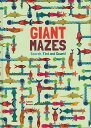 GIANT MAZES Search,Find and Count!/バーゲンブック{Agnese BaruzziImport23 洋書 児童洋書 児童 子供 こども 英語 えいご 絵本 え…