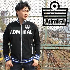 アドミラルゴルフ(Admiral GOLF) トラックジャケット メンズ レプリカ ゴルフ ジャージー ブラック M/L/LL