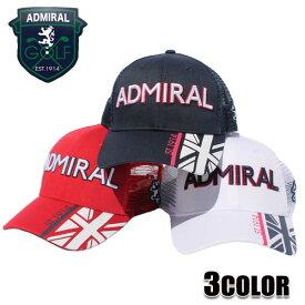 アドミラル キャップ ADMIRAL ハーフ ユニオンジャック アドミラルゴルフ Admiral GOLF CAP 帽子 ADMB908F