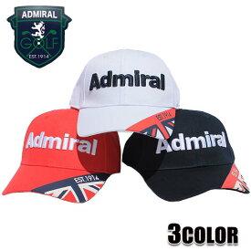 アドミラル キャップ ADMIRAL UJハルブスキャップ アドミラルゴルフ Admiral GOLF CAP 帽子 ゴルフキャップ ADMB952F