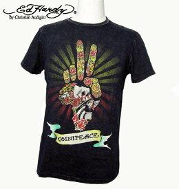 エドハーディー Tシャツ メンズ Ed Hardy OMNI PEACE ピース M02OMPC374 エド・ハーディー edhardy タトゥー