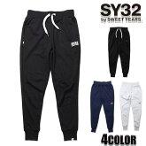 SY32bySWEETYEARSスウェットパンツメンズ