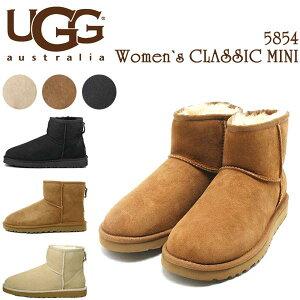 UGG クラシックミニ アグ ブーツ ムートンブーツ UGG AUSTRALIA クラシック ミニ シープスキンブーツ アグブーツ 5854W アグ
