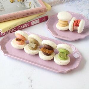 白マカロン 6個入り いちご いちじく 抹茶 ほうじ茶 チョコ ロータス きなこ 韓国 マカロン トゥンカロン 誕生日 プレゼント ギフト 可愛い