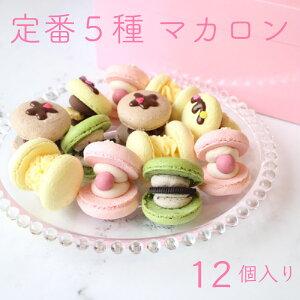 送料無料 マカロン トゥンカロン カラフル 12個入り 韓国マカロン いちご チョコ レモン 抹茶 オレオ