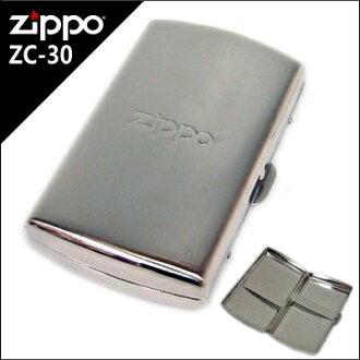 ZIPPO metal cigarette case ZC-30 (85mm12 book business)