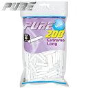 手巻きタバコ フィルター PURE ピュア スリム エクストリームロング 200個入 直径6mm 長さ30mm 手巻きたばこ用フィル…
