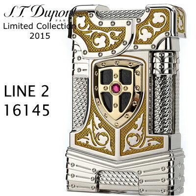【デュポン限定】デュポン ライン2 ライター 16145 ホワイトナイト プレステージ 【515個限定品】 エス・テー・デュポン フリントガスライター