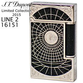 【 限定 】デュポン ライン2 ライター 16151 シュート・ザ・ムーン プレミアム 【 1865個 限定品 】 S.T.Dupont LINE2 エス・テー・デュポン フリントガスライター