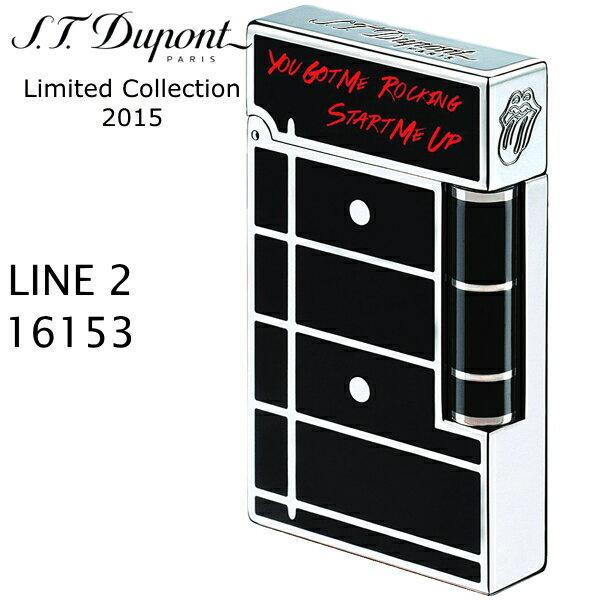 【デュポン限定】デュポン ライン2 ライター 16153 ローリングストーンズ プレステージ 【1962個限定品】エス・テー・デュポン フリントガスライター