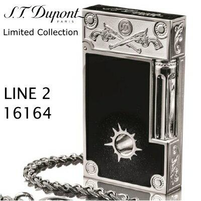 【デュポン限定】デュポン ライン2 ライター 16164 ワイルドウエスト 【1500個限定品】 エス・テー・デュポン フリントガスライター