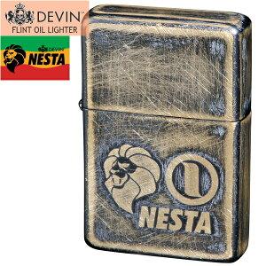 DEVIN × NESTA ネスタブランド オイルライター DXN-UBS ユーズド仕上げB 真鍮メッキ
