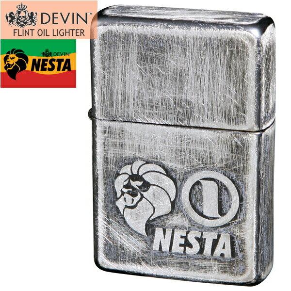 NESTA ネスタ オイルライター DXN-USV ユーズド仕上げA 銀メッキ