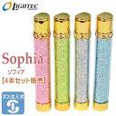 Sophia ソフィア ガスライター 【4本セット販売】 ライテックガス注入式電子ライター
