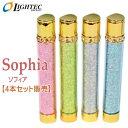 Sophia ソフィア ガスライター サクラ 【4本セット販売】 ライテック ガス注入式 電子ライター