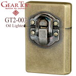 GEARTOPギアトップGT2-003ロックブラスバレルオイルライター