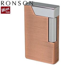 RONSON WORK26 ロンソン ワーク26 R26-0014 カッパーサテン オイルライター